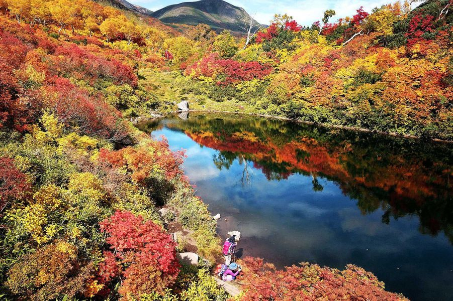 Kamikawa, Hokkaido (Japon).