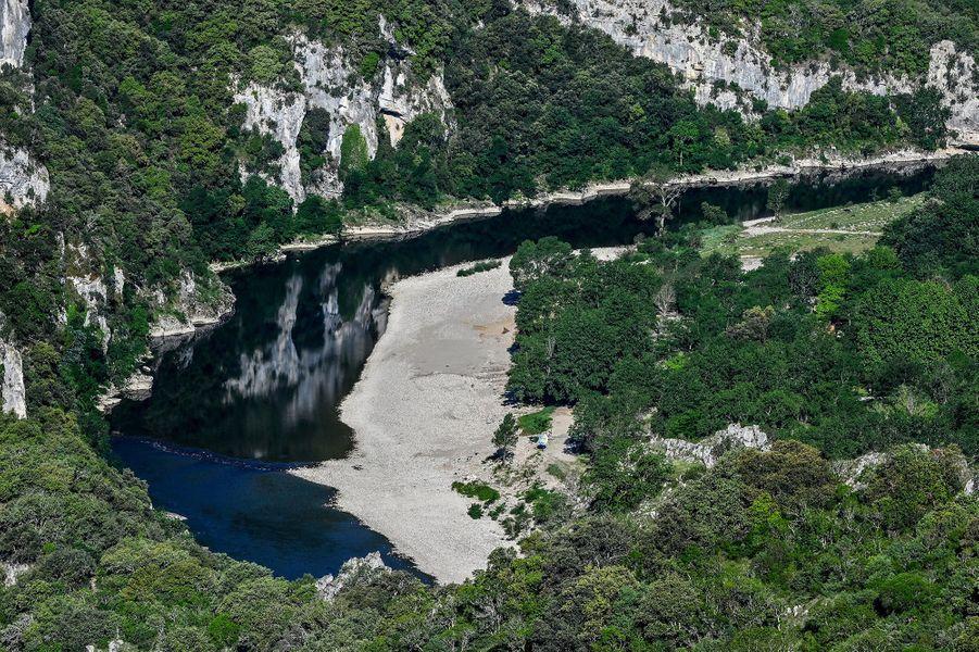 Les gorges de l'Ardèche.