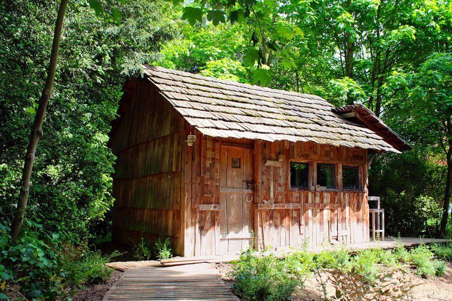 Une cabane à miel.