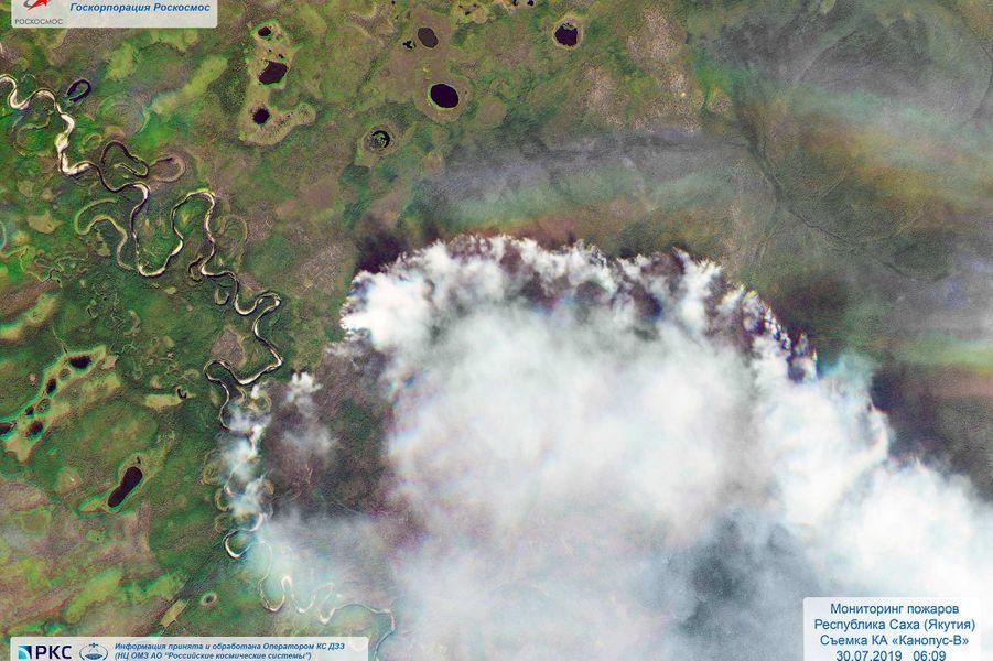 3 millions d'hectares réduits en cendre — Russie