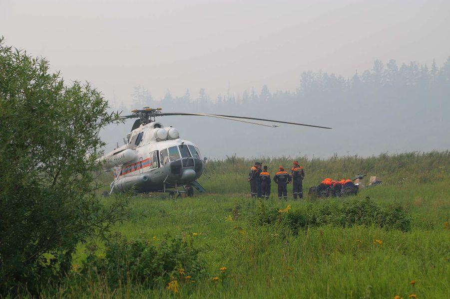 Des incendies ravagent des millions d'hectares de la forêt sibérienne, en Russie.