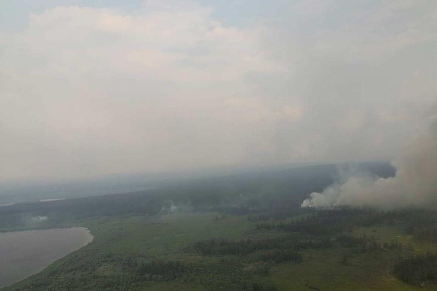 Des millions d'hectares de la forêt sibérienne détruits par des incendies