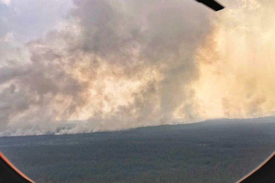 Des millions d'hectares de forêt partis en fumée — Incendies en Sibérie