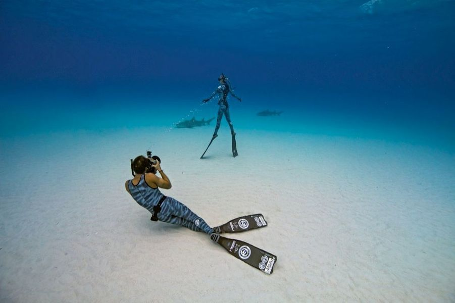Juan, le marin photographe n'a qu'un seul modèle : sa fiancée parmi les rois des mers.