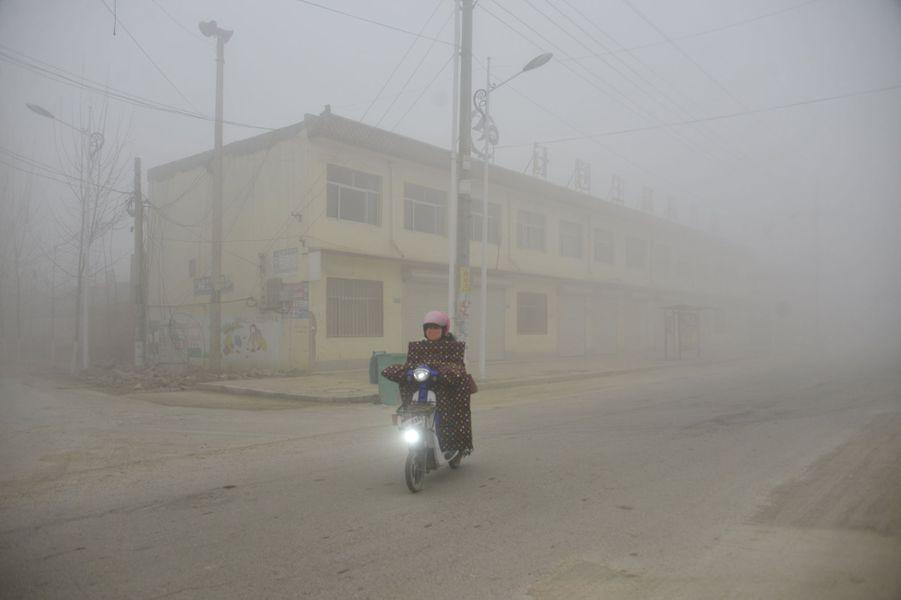 Pollution àLiaocheng, le 20 décembre 2016.