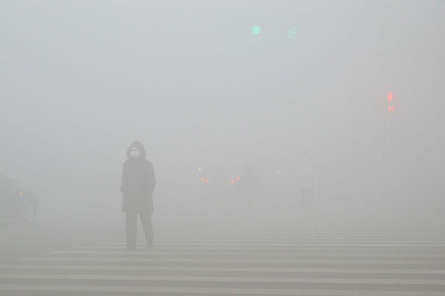Pollution àWeifang, le 20 décembre 2016.