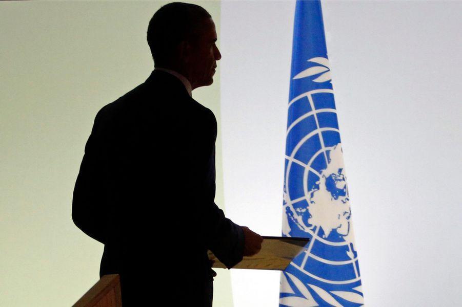 Barack Obama un temps dans l'ombre