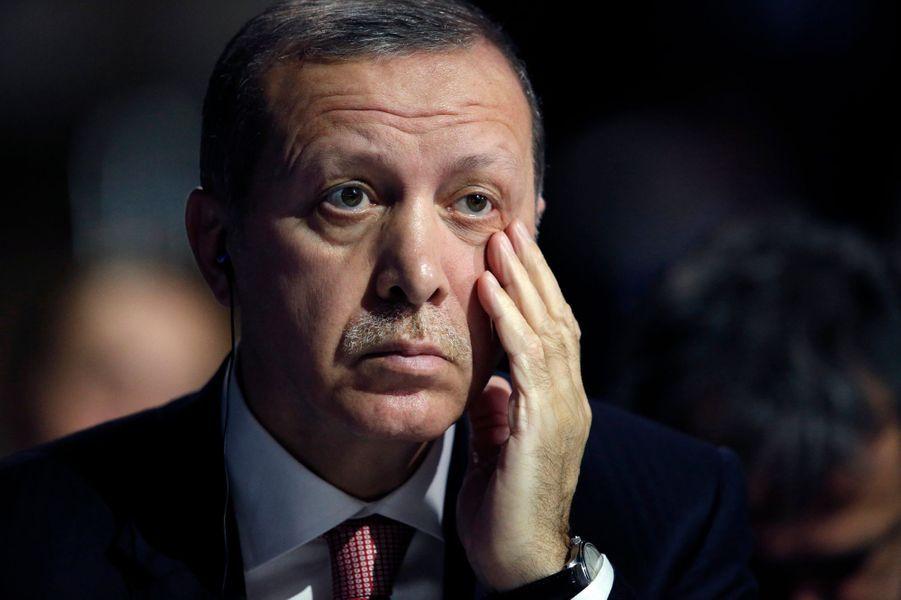 Le président turc Recep Tayyip Erdoğan