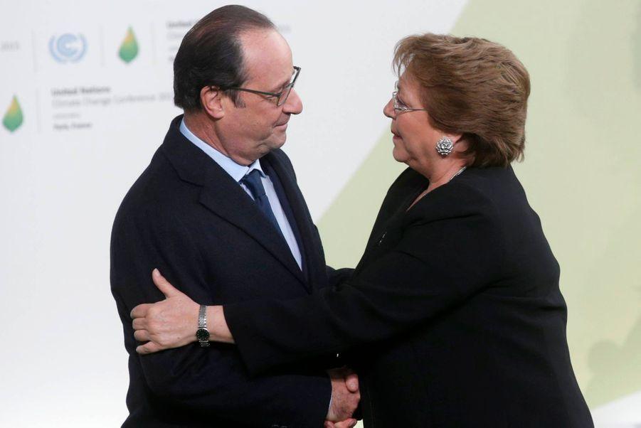 La présidente du Chili Michelle Bachelet