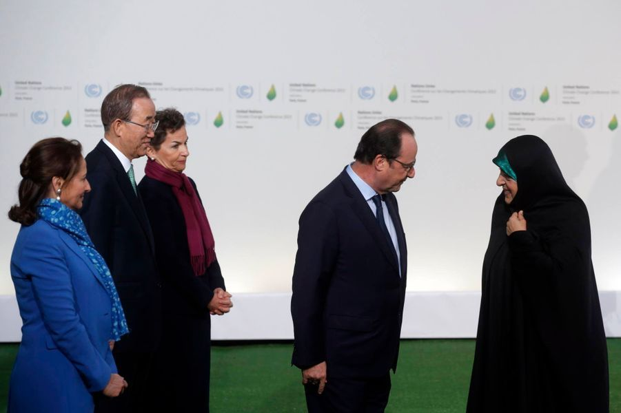 La vice-présidente iranienne Masoumeh Ebtekar