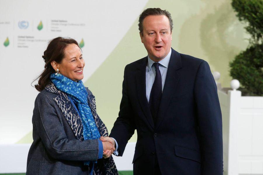 Le Premier ministre anglais David Cameron