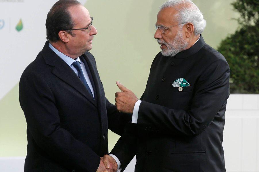 Le Premier ministre indien Modi