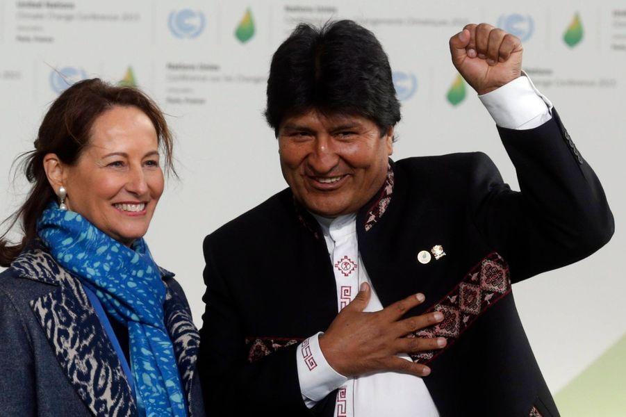 Le président bolivien Evo Morales