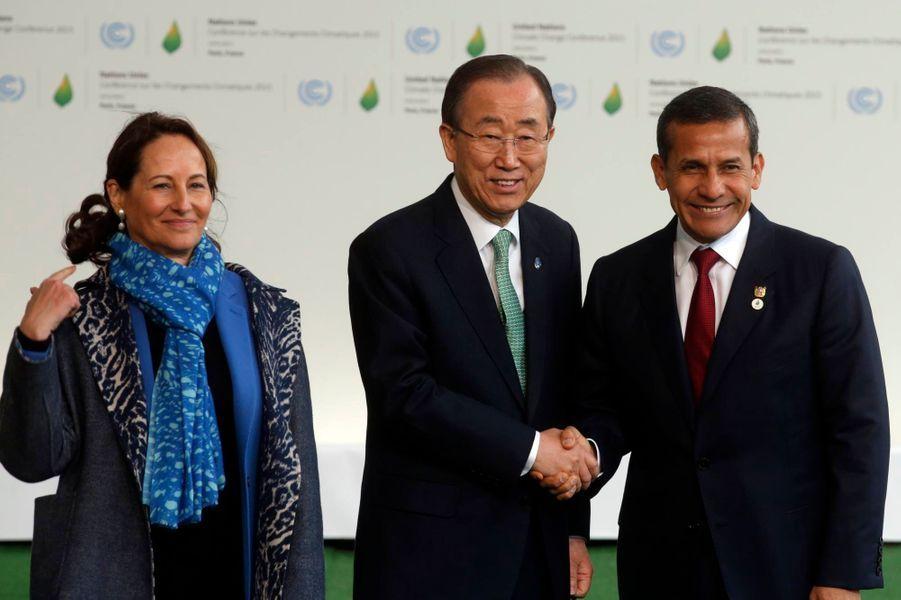 Le président péruvien Ollanta Humala Tasso