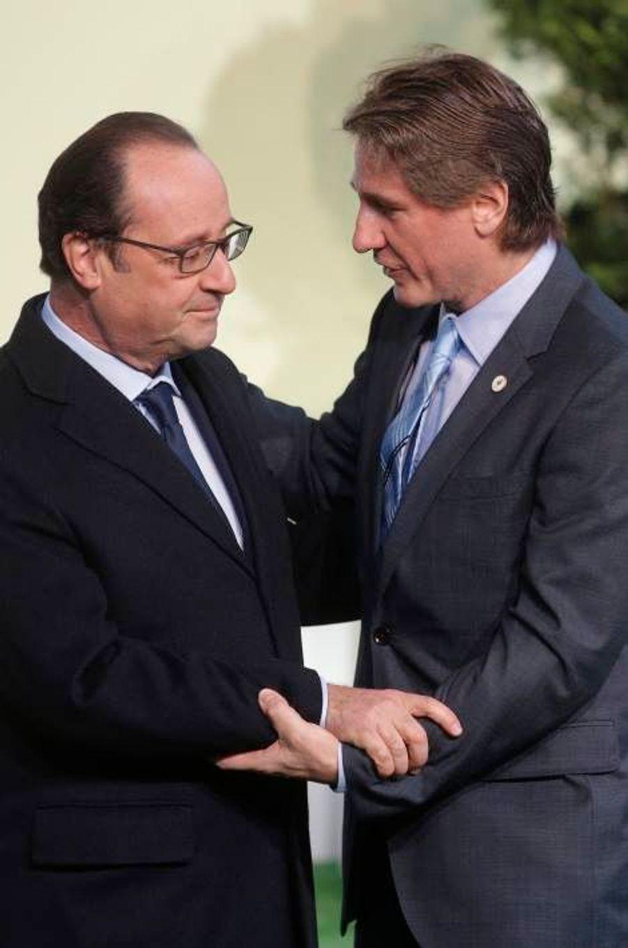 Le vice-président argentin Amado Boudou