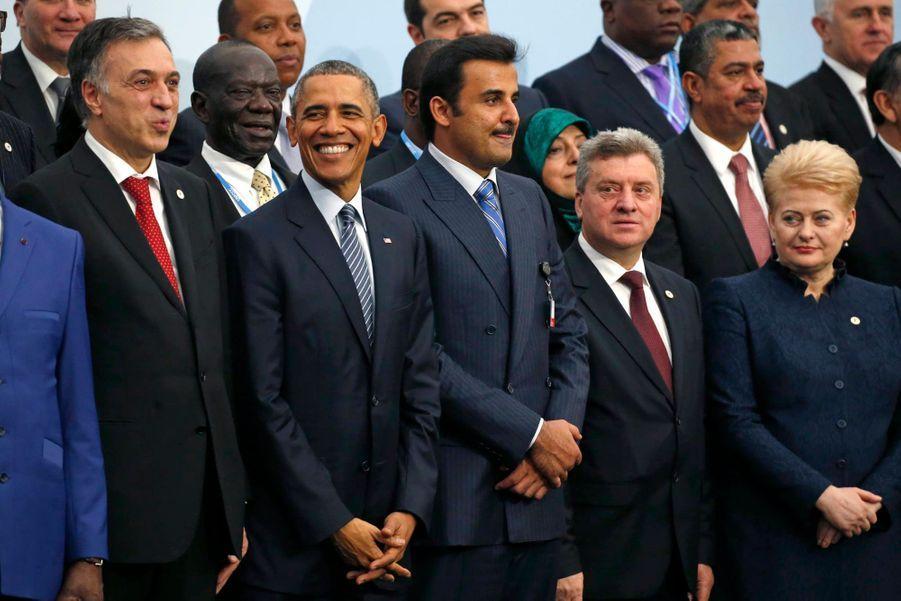 Barack Obama tout sourire