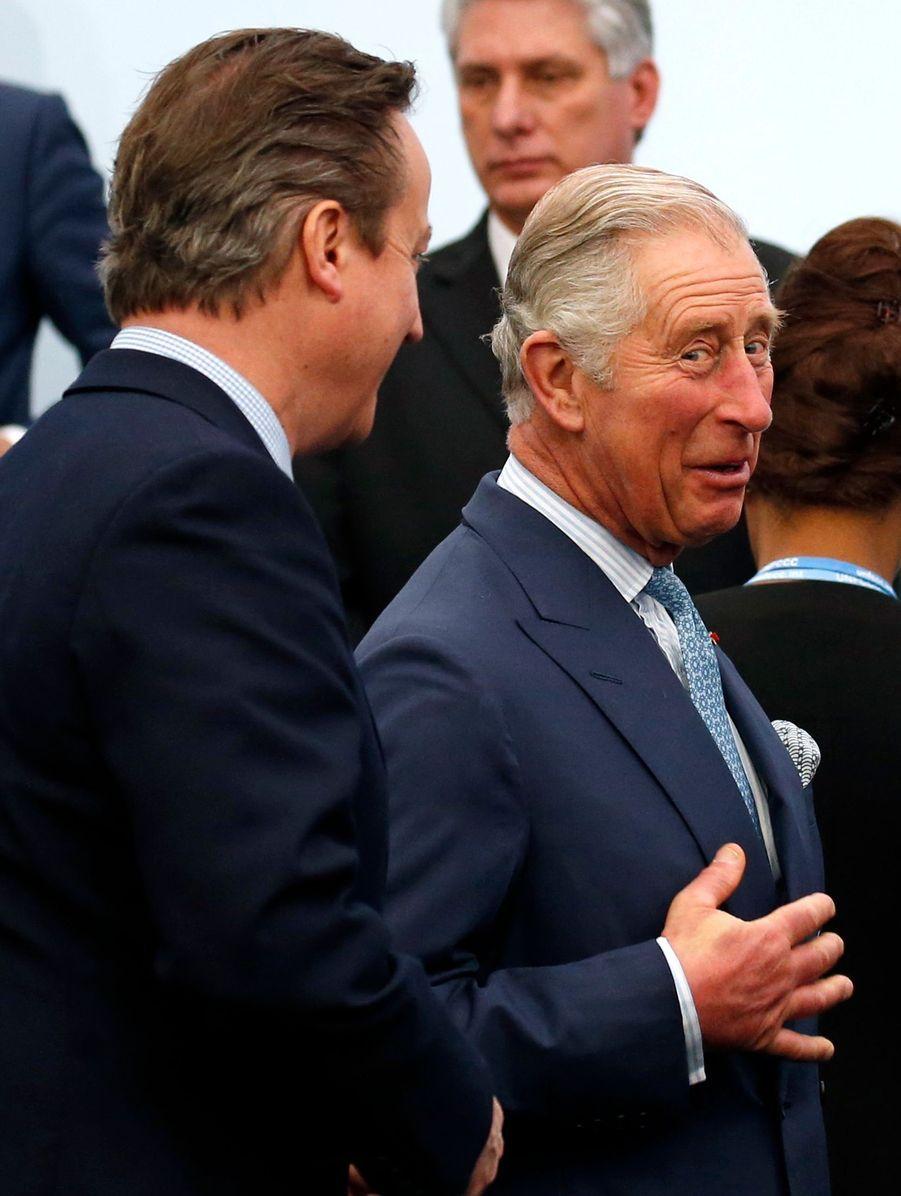 David Cameron et le prince Charles