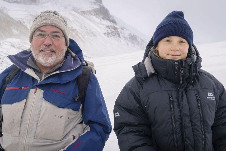 Dans les Rocheuses canadiennes avec John Pomeroy, chercheur en hydrologie, le 22 octobre