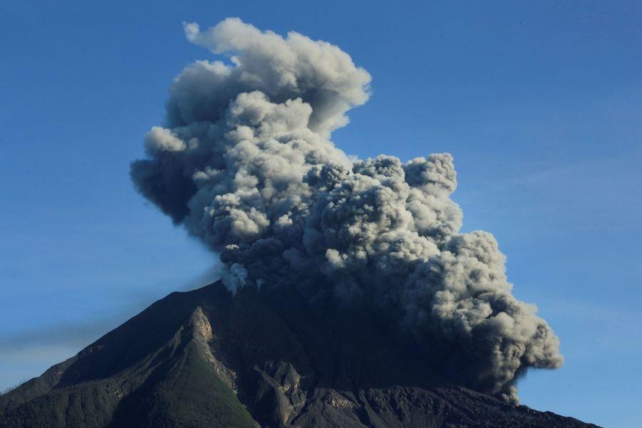 L'éruption du Sinabung, le 23 août dernier.