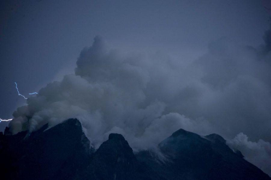 L'éruption du 23 août.