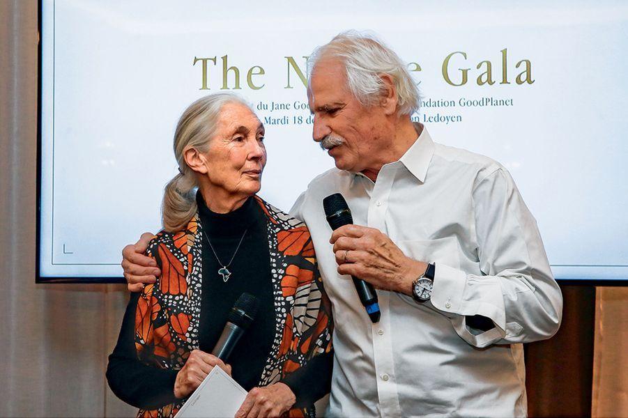 Jane Goodall et Yann Arthus-Bertrand