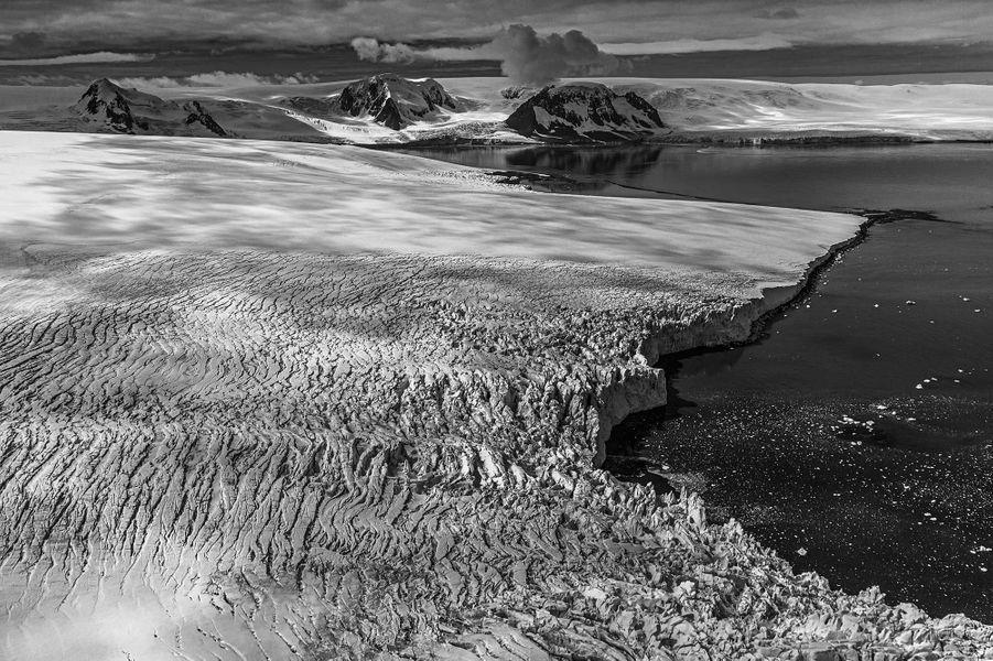 Crumpled glacier de Paul Nicklen