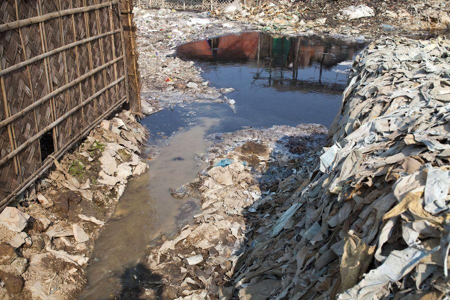 Les déchets des tanneries sont reversés dans la nature