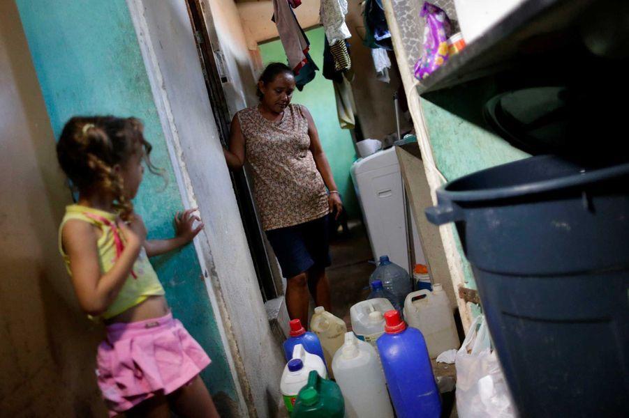 La collecte d'eau potable àCampina Grande