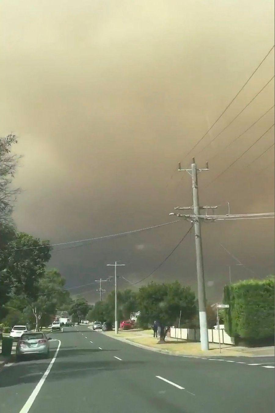 Des milliers de personnes ont été contraintes de fuir l'Etat de Victoria en raison des incendies.