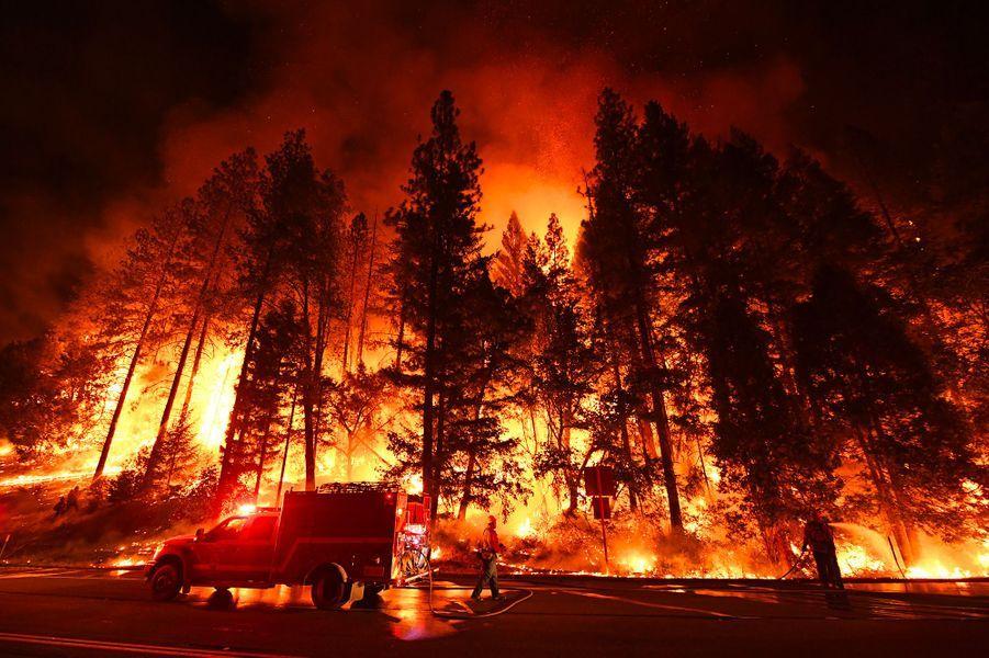 A la fin du mois de juillet, la Californie (Etats-Unis) doit faire face à deux monstres: Carr et Ferguson. Ces incendies ravagent à eux-seuls 1321 kilomètres carrés de forêts. C'est plus de dix fois la superficie de Paris. Outre les dizaines de villages rasés, dix personnes périssent dans les flammes.