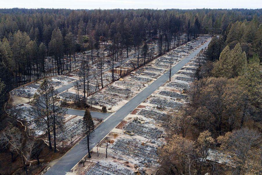 Pendent ce temps, la Californie brûle comme jamais. Camp Fire ravage 620 kilomètres carrés de forêt dont l'emblématique ville de Paradise. D'après le shérif du comté de Butte, 85 personnes décèdent dans la catastrophe: c'est l'incendie le plus meurtrier de l'histoire de la Californie.