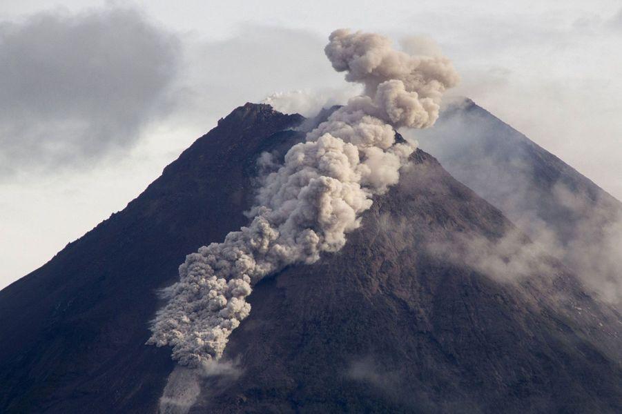 L'éruption du Merapi, en janvier dernier.