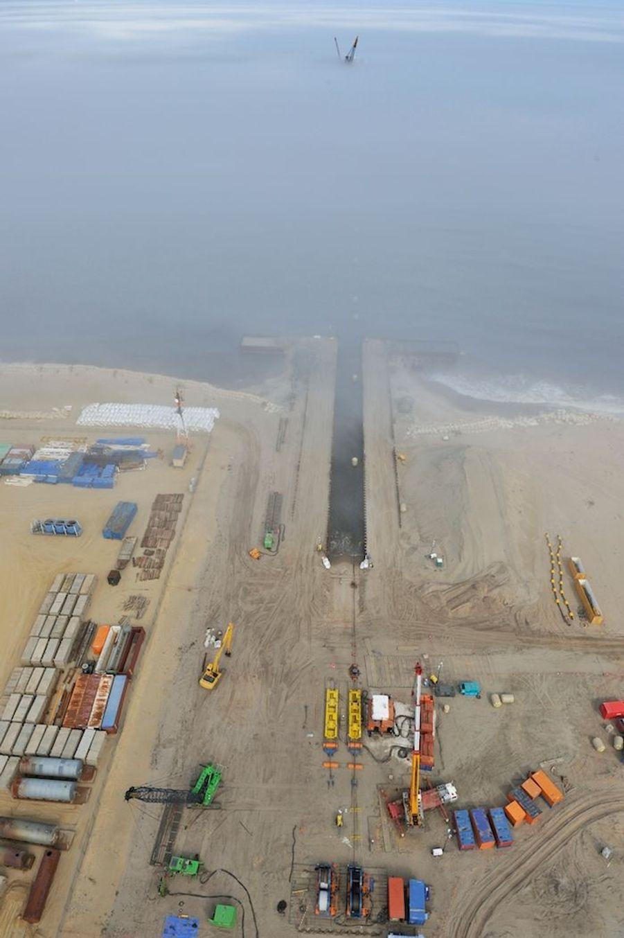 Van Oord prépare l'arrivée de pipelines sous-marins sur l'île Sakhalin en Russie