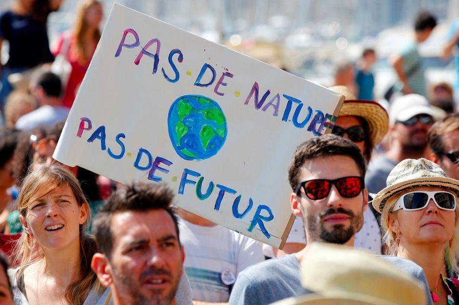 Marche pour le climat à Marseille, samedi 8 septembre