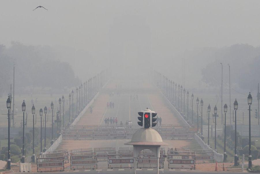 New Delhi le 15 novembre 2020.