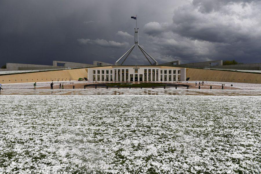 Le Parlement de Canberra.