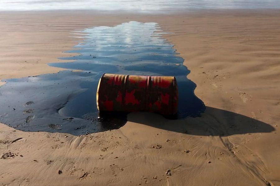 Les galettes de pétrole, qui ont commencé à apparaître début septembre, ont été constatées sur au moins 2.000 km le long de la côte atlantique. Elles ont atteint à présent l'ensemble des neuf Etats du nord-est brésilien, région pauvre réputée pour la beauté de ses plages.