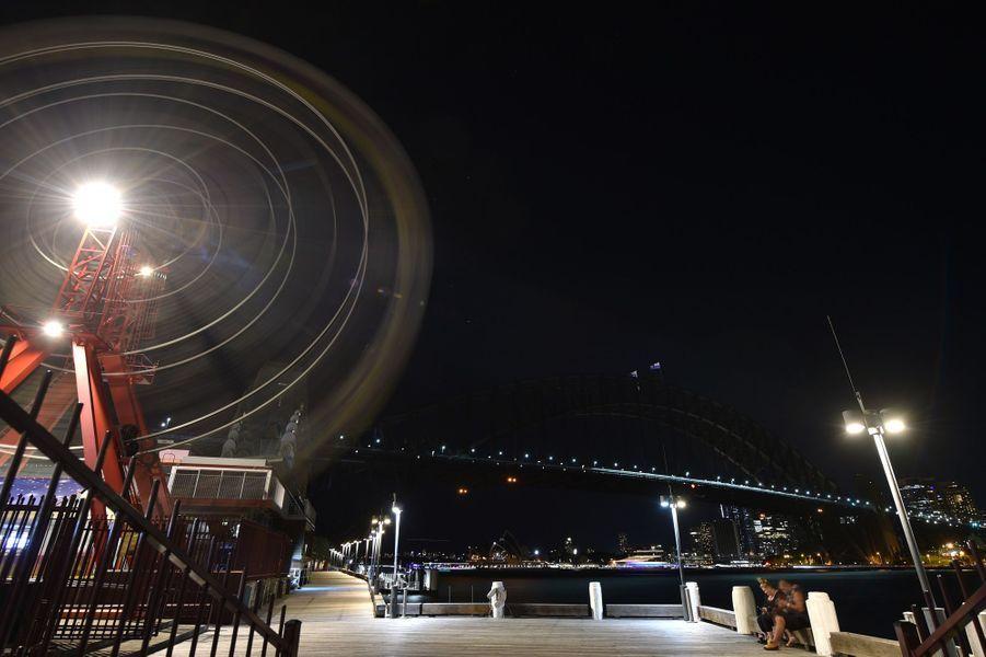 Extinction des lumières à Sydney.