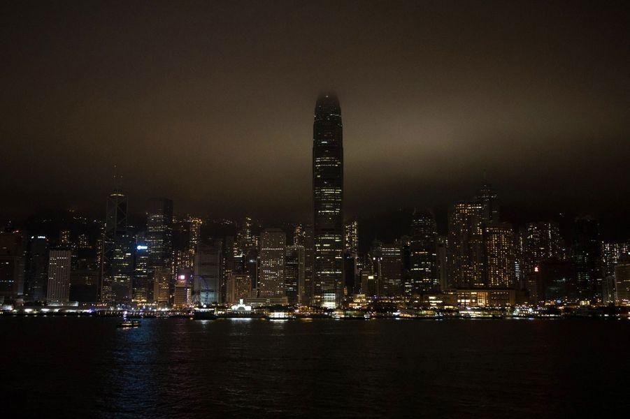 Victoria Harbour, à Hong Kong.