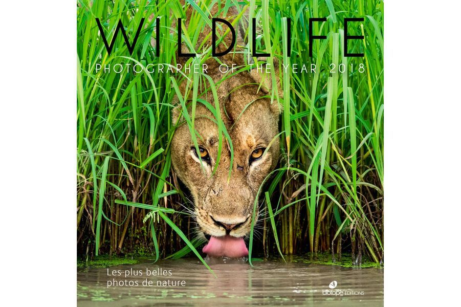 La couverture du prochain ouvrage de l'édition 2018 du Wildlife Photographer of the Year.