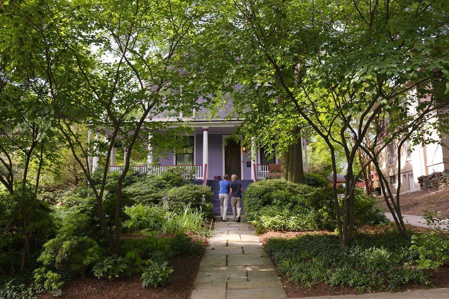 La maison d'Anna Burger, àTakoma Park dans le Maryland.