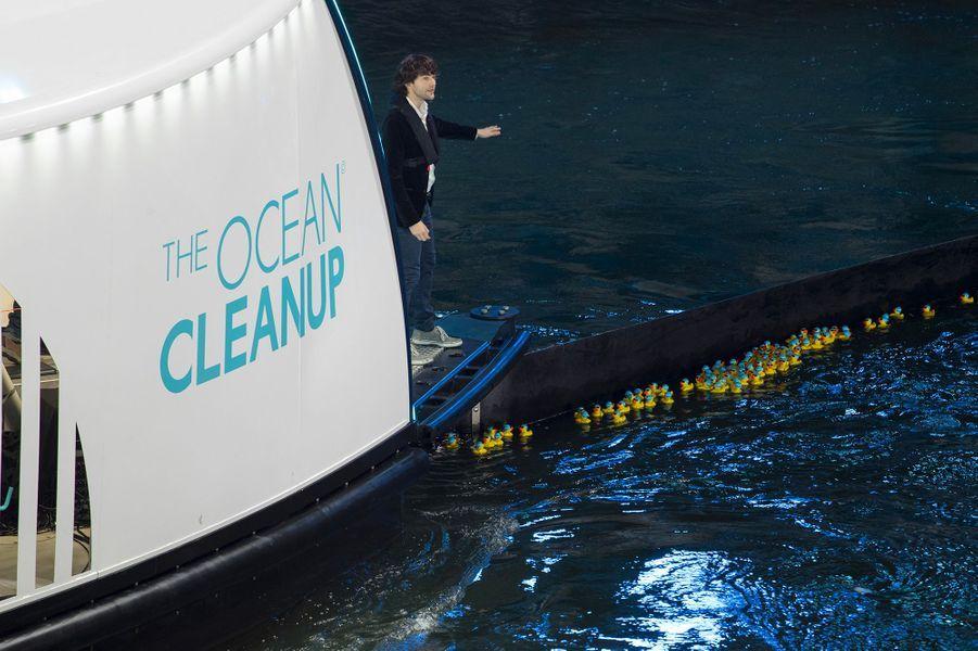 Boyan Slat, fondateur d'Ocean Cleanup.
