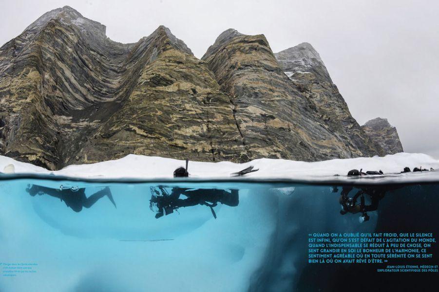 Plonger dans les fjords islandais c'est évoluer dans une eau cristalline filtrée par les roches volcaniques.