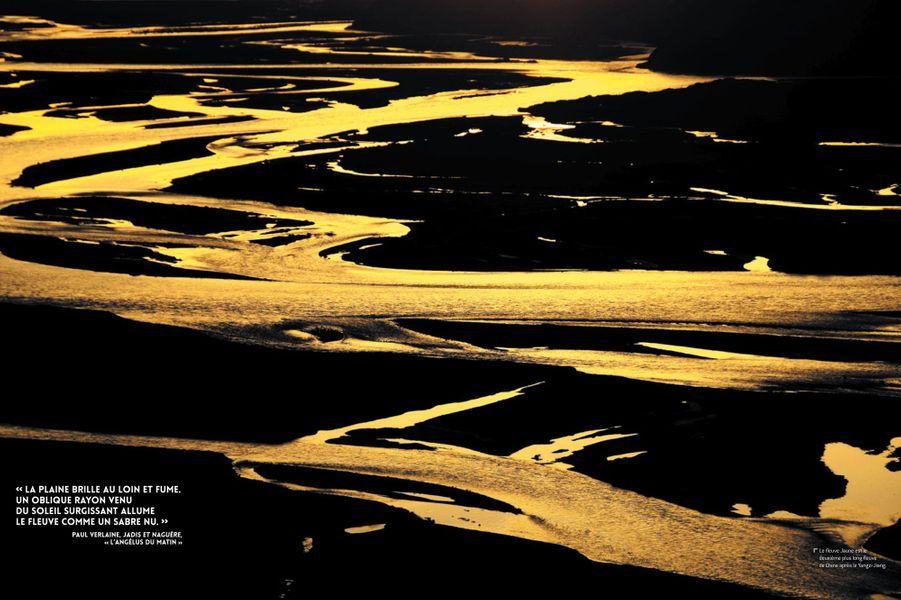 Le fleuve jaune est le deuxième plus long fleuve de Chine.