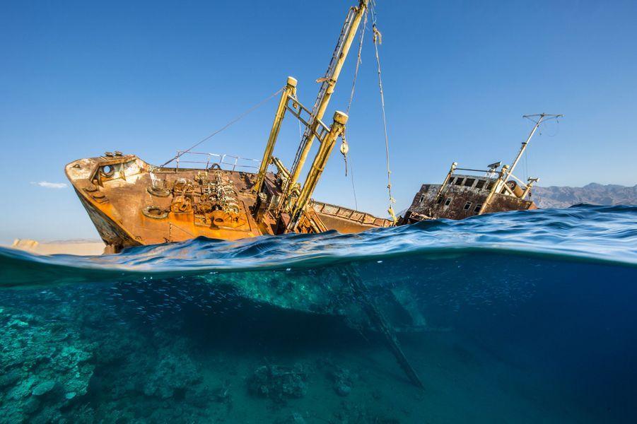 """Saudi Titanic"" de Renee Capozzola, Neom,au Nord-Ouest de l'Arabie saoudite."