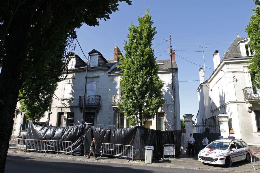 La maison de la famille Dupont de Ligonnès, à Nantes, au lendemain de la découverte des corps.
