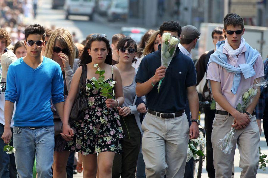 Le 26 avril 2011, une marche silencieuse est organisée à Nantes.