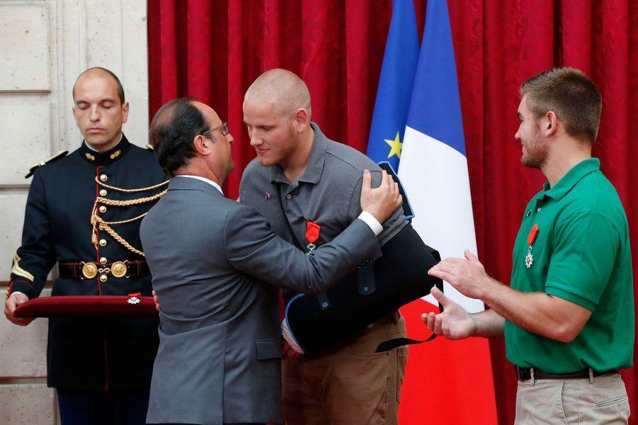 La Légion d'honneur pour Spencer Stone