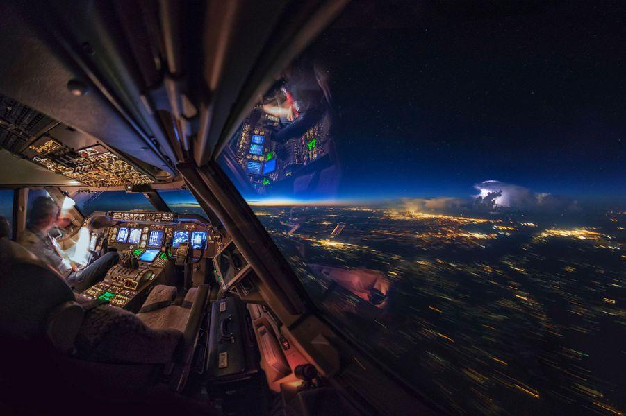 Vue imprenable depuis le cockpit deChristiaan van Heijst.