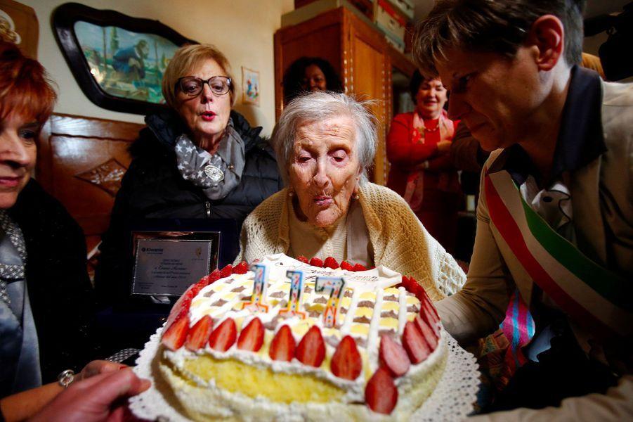Emma Morano fête ses 117 ans